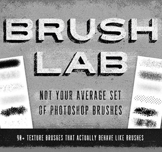 90 Brush Lab Texture Brushes
