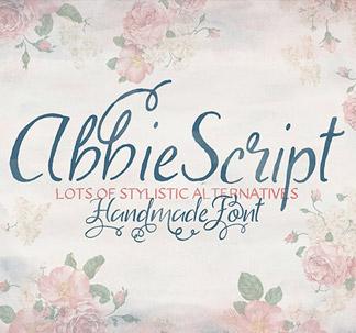 Abbie Script Pro Font