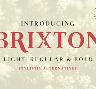Brixton Font Family