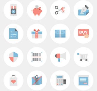 37 E-Commerce Icons