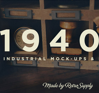 13 Industrial Mockup Photos