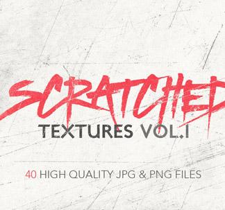 40 Scratched Textures