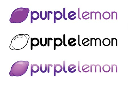 Purple Lemon Logo
