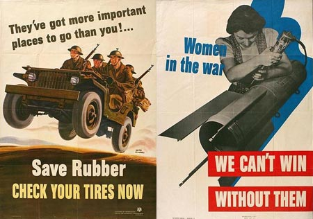 Back To Basics Inspiration From 1940s War Posters