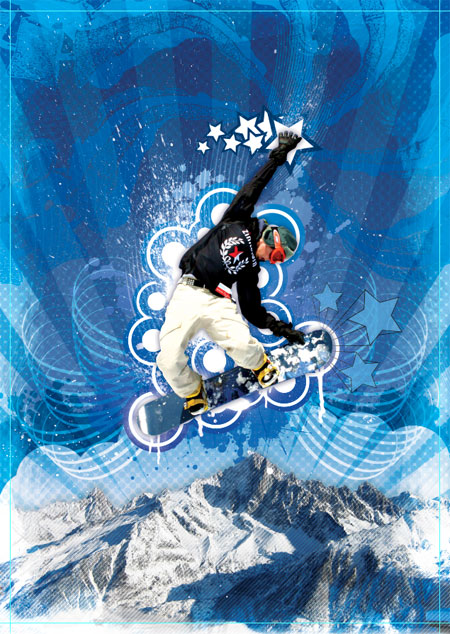 Snowboarder Artwork