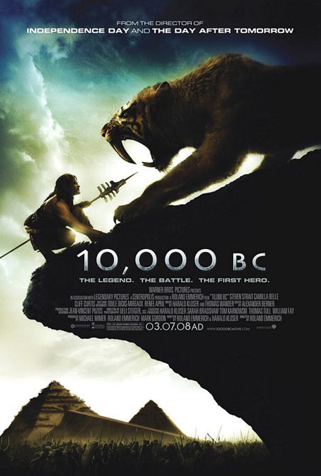 10000BC Movie Poster