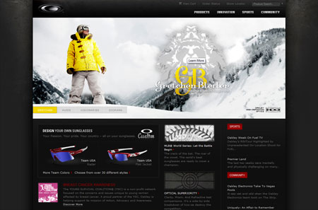 Extreme Sports Website