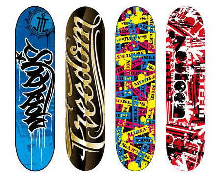 Cool Skate Boards 220 Stunning Creative Skateboard Graphics