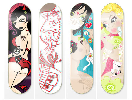 Skateboard Graphics