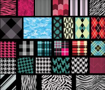Textile Pattern Vectors
