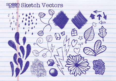 Doodles and Sketches Vectors