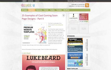 Dzine Blog