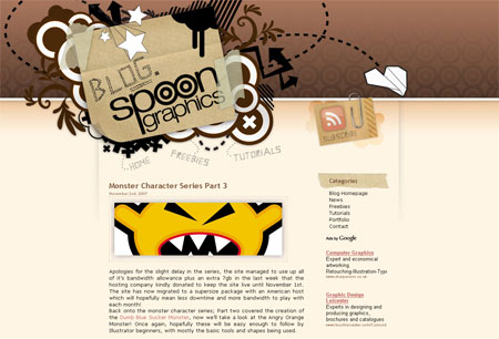 Blog.SpoonGraphics Version 2