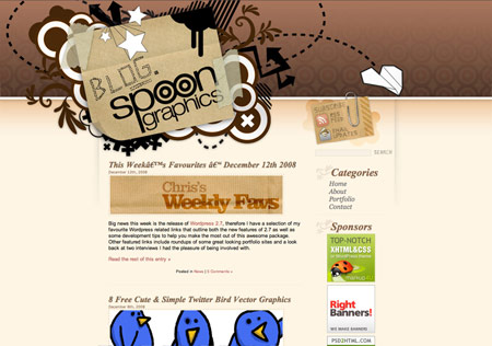 Blog.SpoonGraphics Version 3