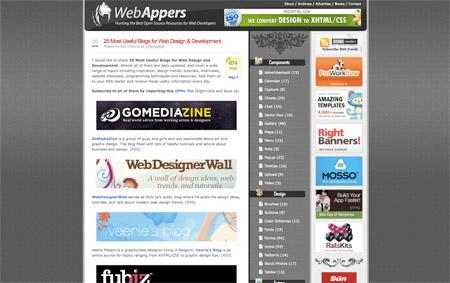 Weba Appers