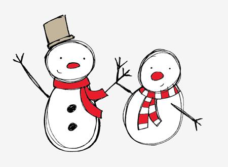 Snowman Vectors