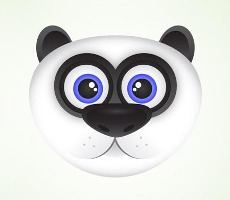 Panda vector icon