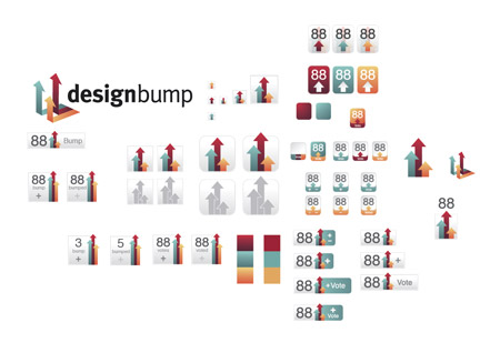 DesignBump icon designs