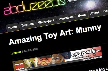 Custom designer toy examples