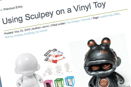 Custom designer toy tutorial