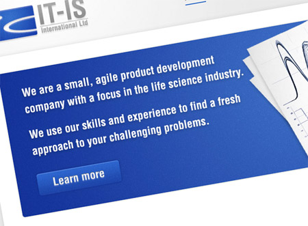 The new IT-IS International website