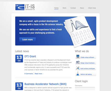 View the new IT-IS International website