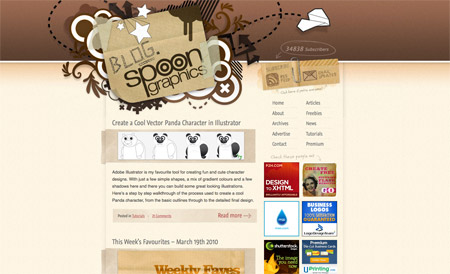 Blog.SpoonGraphics screenshot
