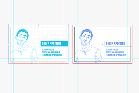 Create a print ready business card design in illustrator type size and set in cyan im using some general profile links but you might want to add the usual contact details often found on business cards colourmoves