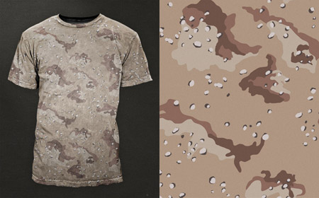 How to Paint a Camouflage Desert Pattern | eHow