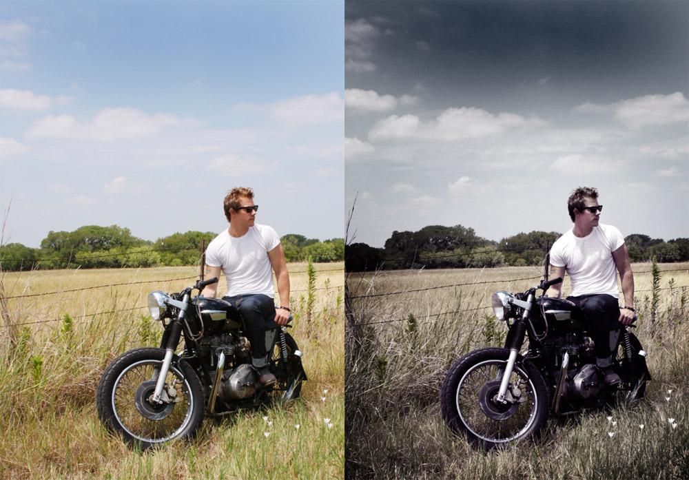 Как сделать такой эффект на фото