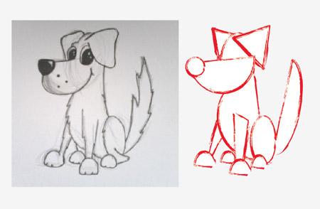 01 الرسم الكرتوني في الاليستريتور
