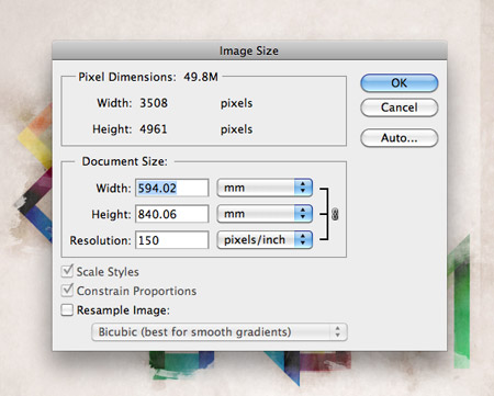 a handy guide to image resolutions in print design