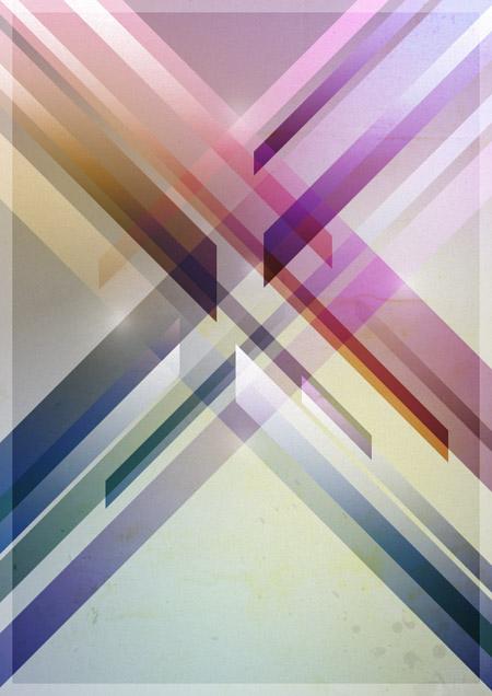 Retro futuristic poster design