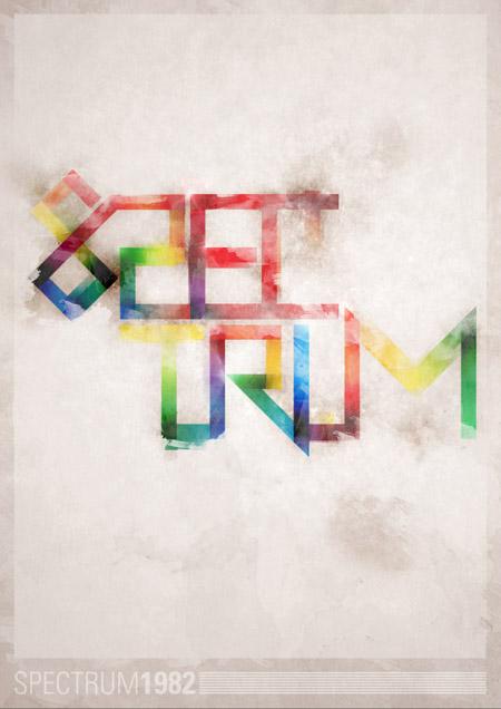 Spectrum poster
