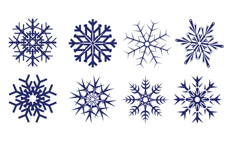 download the snow flake vector