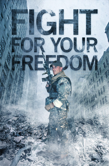 Fight for your Freedom design