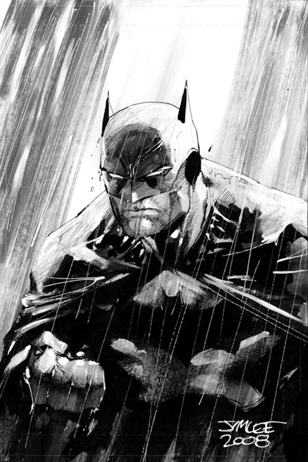 See the Batman artwork