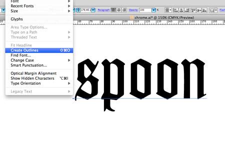 import font into illustrator