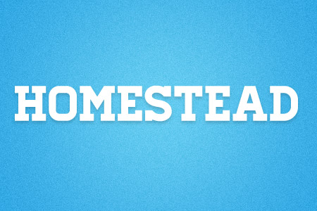 Download the Homestead font