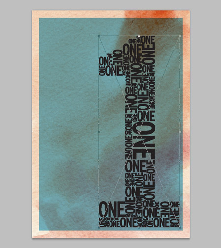 How To Create a Retro Style Typographic Poster Design 15