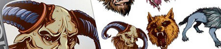 Mythical Creatures Vector Pack for Premium Members