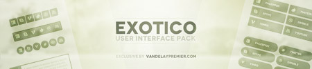 Exotico User Interface Pack for Premium Members