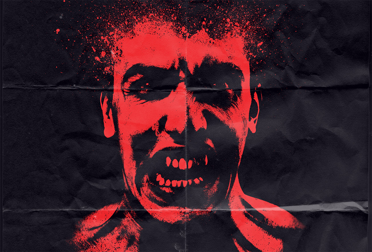 Create a raw horror movie poster design in photoshop baditri Choice Image
