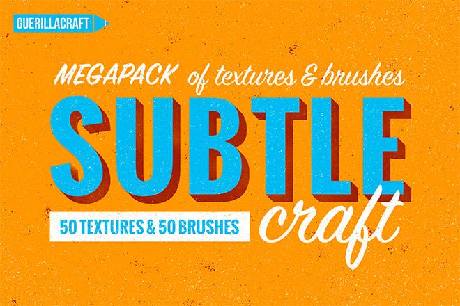 Subtlecraft textures and brushes