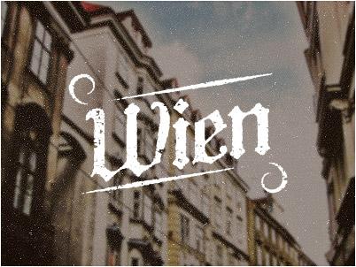 View the typographic design