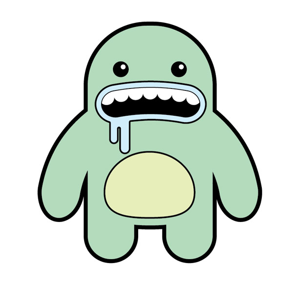 Vector Character Design Illustrator : Fun vector monster character illustrator tutorial