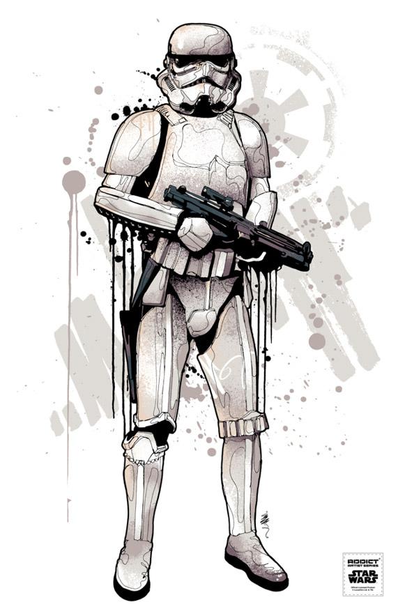 Star Wars Addict Clothing by Mitchy Bwoy