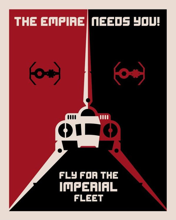 The Empire Needs You! by Soki