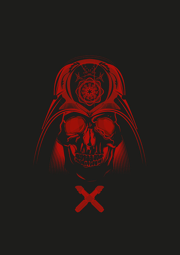 Star Wars Skulls by Rafal Rola