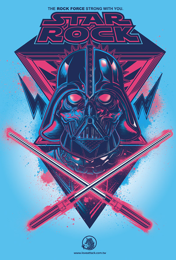 21 vector 30 Awesome Star Wars Creations